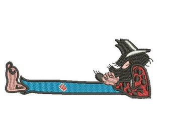 Hillbilly embroidery design