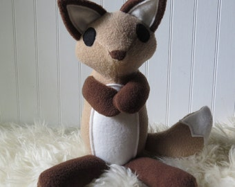 Little Coyote Plush, Coyote Doll, Coyote