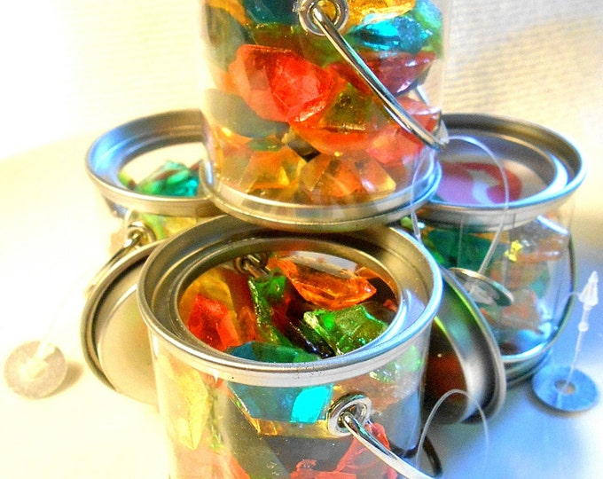 Featured listing image: Bulk CANDY GEM FAVORS Buckets, All Colors and Party Themes, Sugar Jewels,Party Favors, 12