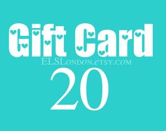 Instant download gift card, Gift certificate, Mothers Day gift card, voucher gift, gift for best friend, birthday gift for her, jewelry gift