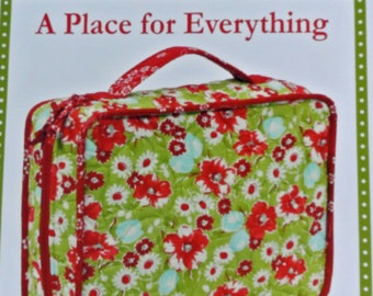 A Place for Everything Sewing Pattern, Everything in its Place, byAnnie, by Annie, Organizer, Printed Pattern, Craft Storage