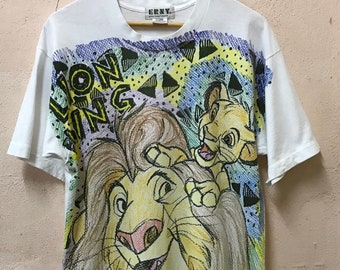Vintage 90s The Lion King Tshirt Cartoon / Movie / Film