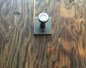 HANDMADE Metal industrial wall hook/ Metal wall hangers/ Industrial coat hook/ Rustic vintage look/ hangers/ modern industrial