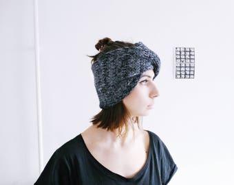 Turban Headband   Knit Turban Headband   Twisted Earwarmer   Knitted Headband   Winter Headband   Chunky Knit Headband   Ready For Shipping