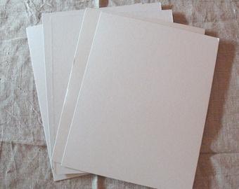 6 Cardboard gray color A4 set of 6