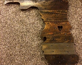 Custom Pallet Wood States