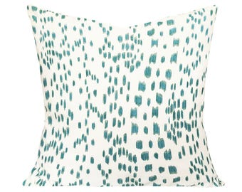Brunschwig Fils Les Touches Decorative Pillow Cover - Throw Pillow - Accent Pillow - Both Sides or Solid White Back - ALL SIZES AVAILABLE
