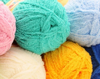 SOFTY Alize Fantasy yarn. Baby yarn. 50 gr. - 115 m.