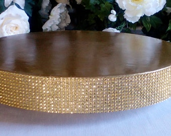 """Wedding Cake Stand """"Glitzy Gold"""" 14"""", 16"""", 18"""", 20"""", and 22"""""""