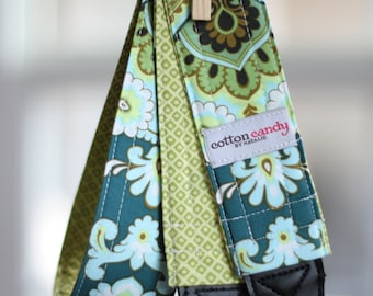 Spruce Wallpaper Reversible Camera Strap