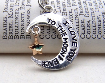 Gold Moon Necklace Gift under 25 for Her Family Necklace Friend Jewelry