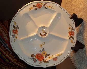 TS&T Paramount Ivory Taylor Smith and Taylor China T.S. and T Vintage China T.S.T Antique China T.S.T platter