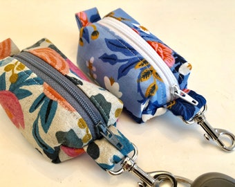 Mini Boxy Pouch - Key Chain - Coin Purse - Chap Stick Holder - Earbud Holder - Lunch Money Pouch - Earbud Pouch - Money Pouch