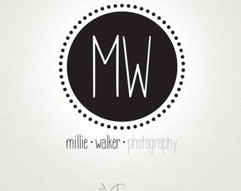 Premade Photography Logo and Watermark - Photography Logo & Watermark