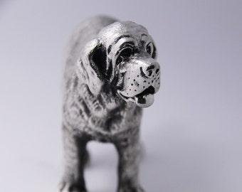 The Saint bernard dog