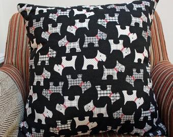 West Highland Terrier Cushion Cover, West Highland Terrier Cushion, Dogs Cushion Cover, West Highland Terrier, Westie, Scottie Dog