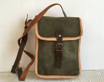 Military bag - Military bag from canvas - Bulgarian Army bag - Sergeant's Bag from Bulgarian Army - Bag for items