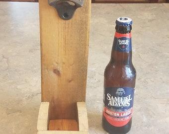 Up-cycled bottle opener