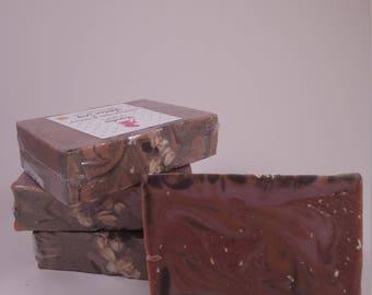 Oatmeal, Milk & Honey, Cold Processed Soap, Soap, Handmade Soap, ShamelessSoaps