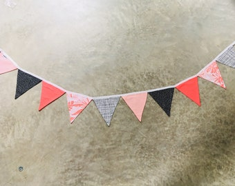triangle bunting, triangle garland