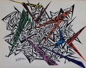 Original Modern Abstract Art, Original Abstract Art, Abstract Art, Modern Art, Contemporary Art