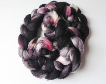 Hand Dyed Corriedale Roving