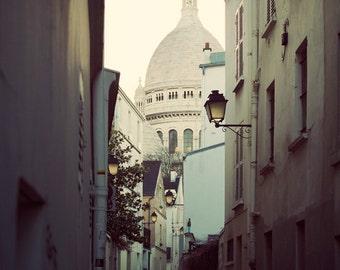 """Paris Architecture Photography, Paris Decor, Print, Sacre Coeur Basilica, Montmartre, Travel Inspiration  """"The Heart of Paris"""""""
