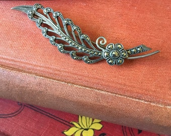 Art Deco Marcasite brooch