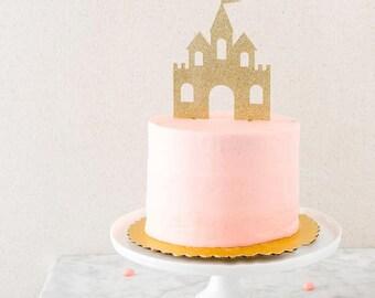 Castle Cake Topper | Birthday Cake Topper | Baby Shower Topper | Baby Shower | Cake Smash | Princess Decorations | Castle topper