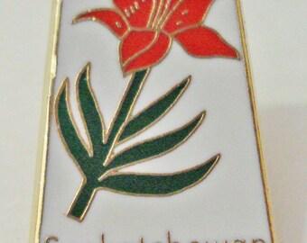 Saskatchewan L A Mint Canada Lapel Pin