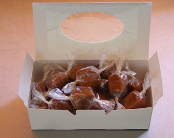 Homemade Buttery Caramels from Farmhouse Fudge & Gifts