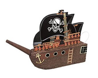 Pirate Ship Pinata  26 inches by 17.5 inches