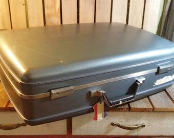 Large Blue Suitcase