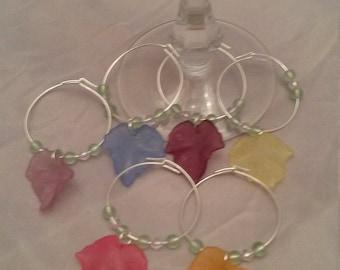 Wine glass Rings for glasses