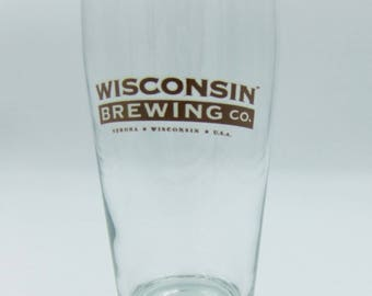 Wisconsin Brewing Co Beer Pint Glass