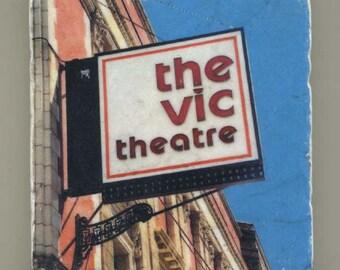 Vic Theatre - Original Coaster