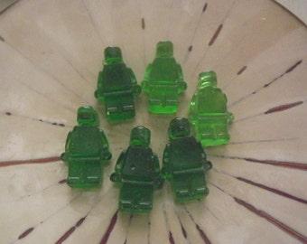 8 Mini Man Figure Candy Party Favor