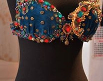 """Belly dance costume, belly dance outfit, dance costume """"Esmeralda"""""""