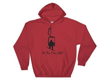 Snowboarder, Do you even lift? Hooded Sweatshirt