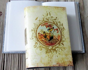vintage birds journal, diary notebook planner, bird, joy gratitude journal - gift giving for under 30