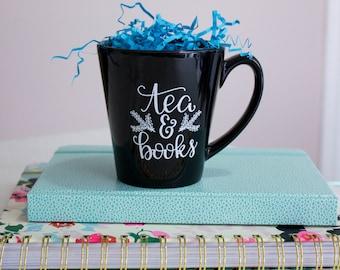 Tea & Books Mug