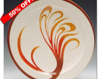 "50% OFF - ""Painted Sedona Sky"" Entree Plate"