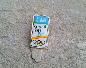 Baush & Lomb Sesitive Eyes plus Olympic Pin36 usc-380 - no pin back included
