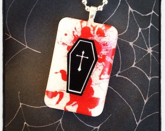 Bloody Coffin Necklace