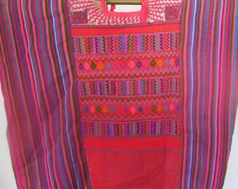 Vintage Todos Santos Huipil from Guatemala