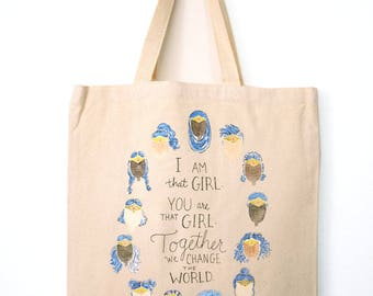 I Am That Girl: Tote Bag