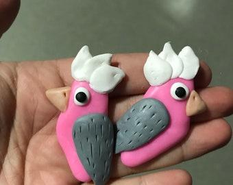 Galah Earrings