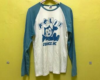 Vintage Felix The Cat Shirt | Felix The Cat Comics.inc Produced by Grace