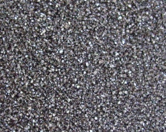 Black Colored Sand ~ 12oz (1 cup vol.)  Black Unity Sand ~ Black Wedding Sand ~ Black Sand ~ Black Craft Sand ~ 150 Colors Available