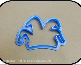 """4.5"""" Jester Hat 3D Printed Cookie Cutter"""